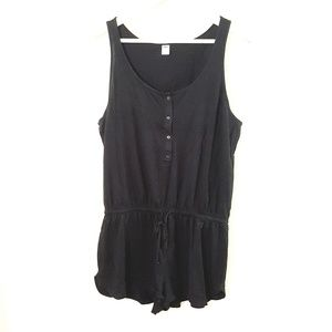 Old Navy // Cute Black Lightweight Summer Romper